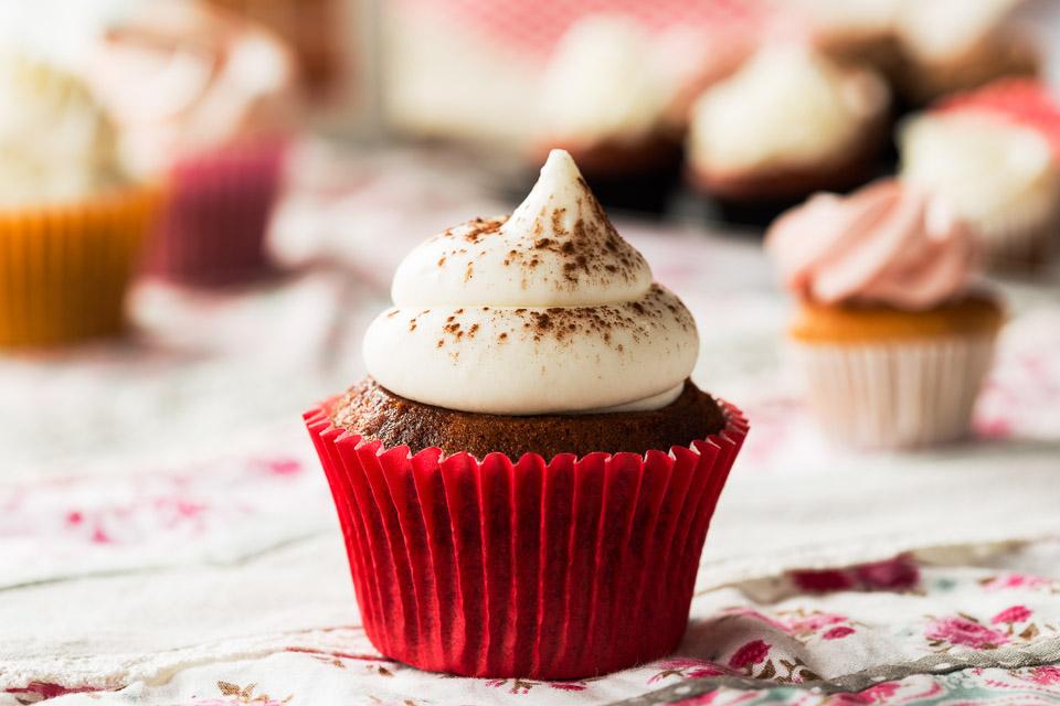 Cupcake Red Velvet - Pastisseria Girona