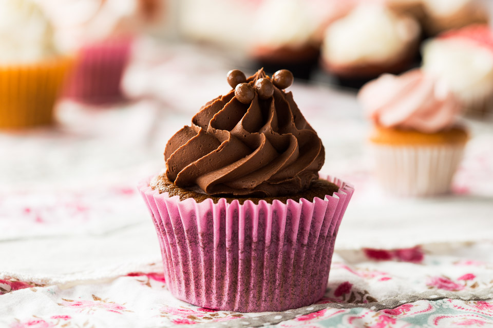 Cupcake de xocolata - Pastisseria Girona