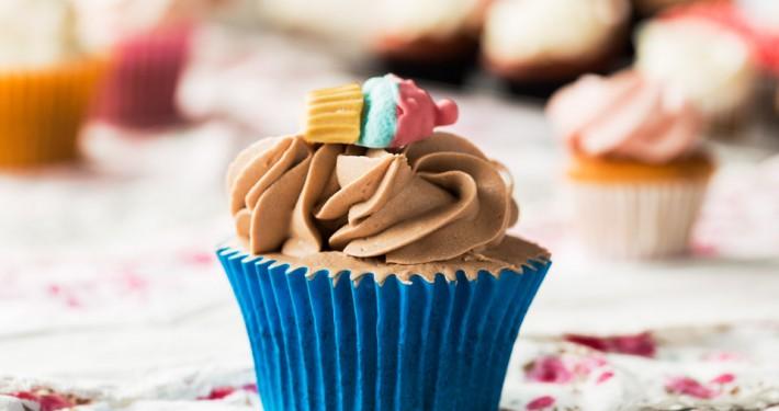 Cupcake de Nutella - Pastisseria Girona