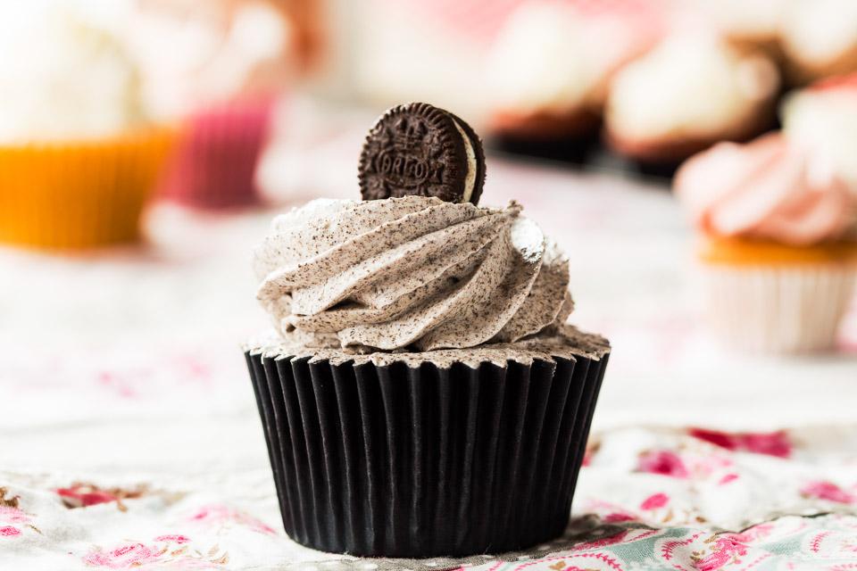 Cupcake d'Oreo - Pastisseria Girona