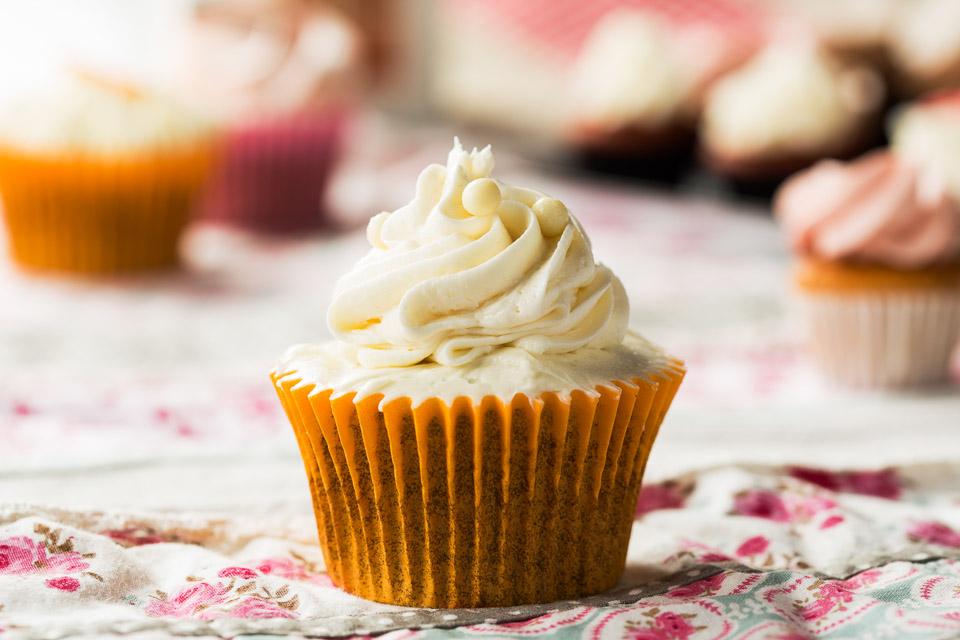 Cupcake dos xoclates - Pastisseria Girona